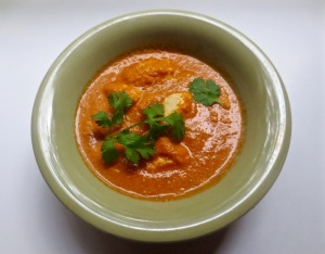 tomato, cashe, paneer curry