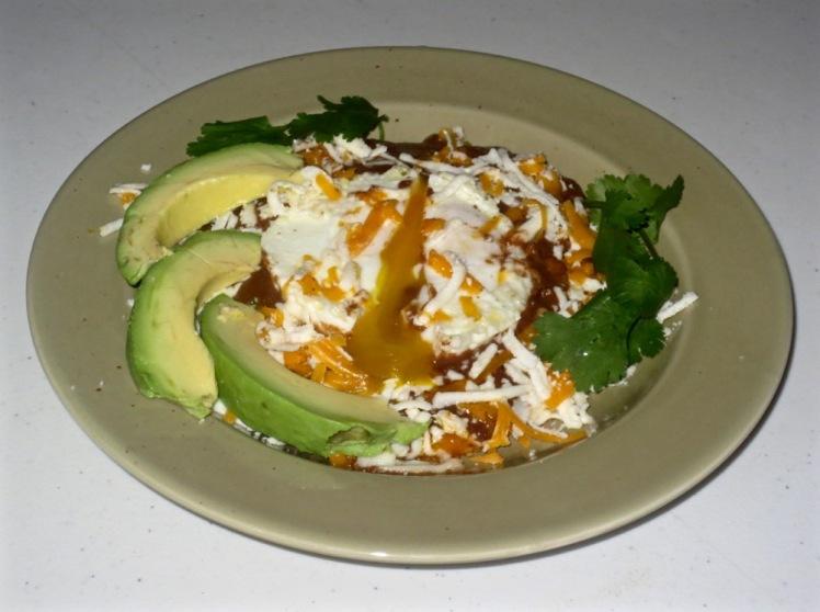 eggs molé 2