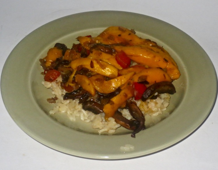 mangoes & mushrooms
