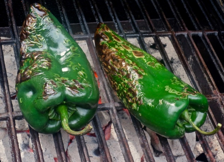stuffed poblanos