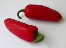 red jalapeños