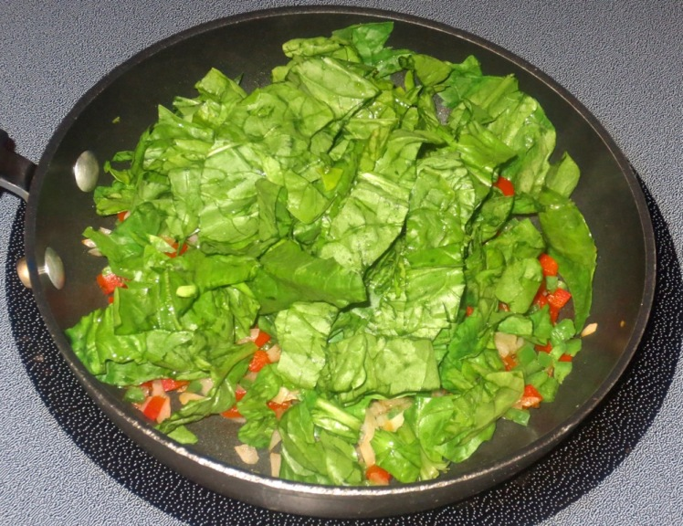 spinach taco