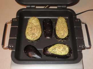 eggplant stuffed mushrooms