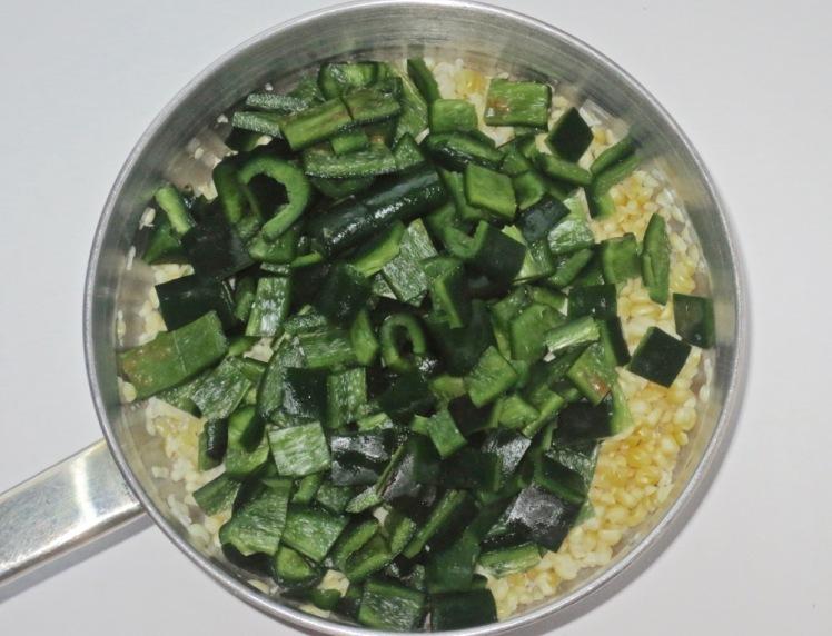 poblano corn soup