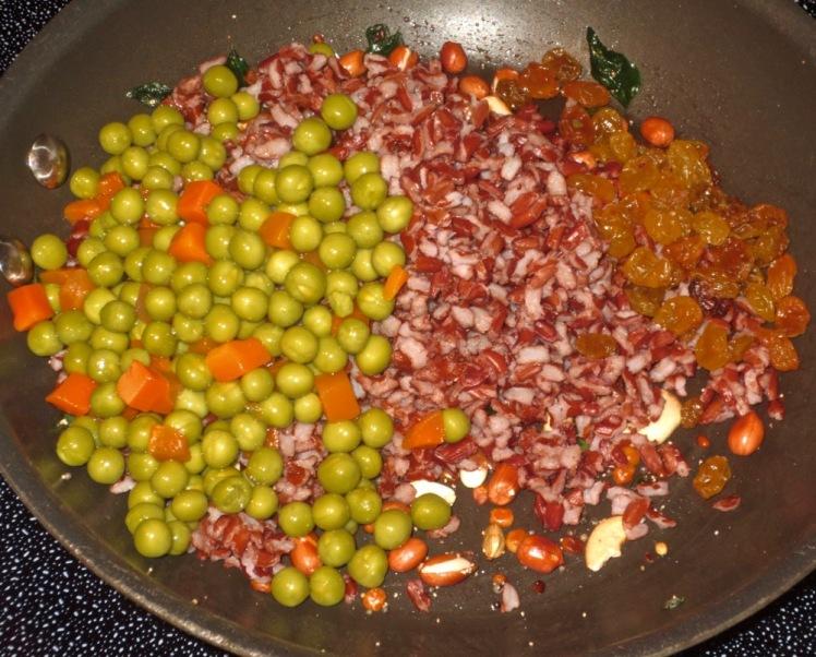 red rice upma