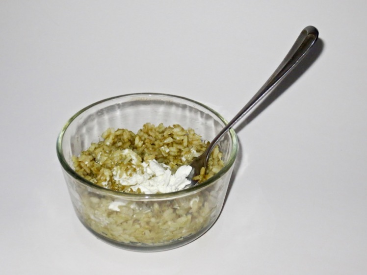 rice & egg muffins