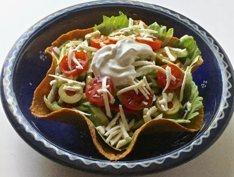 taco salad for one