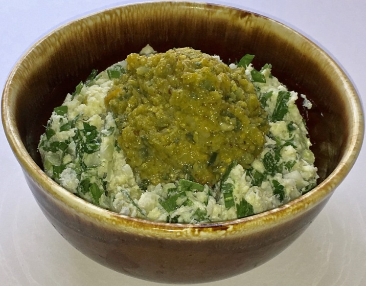 cauliflower potato mash