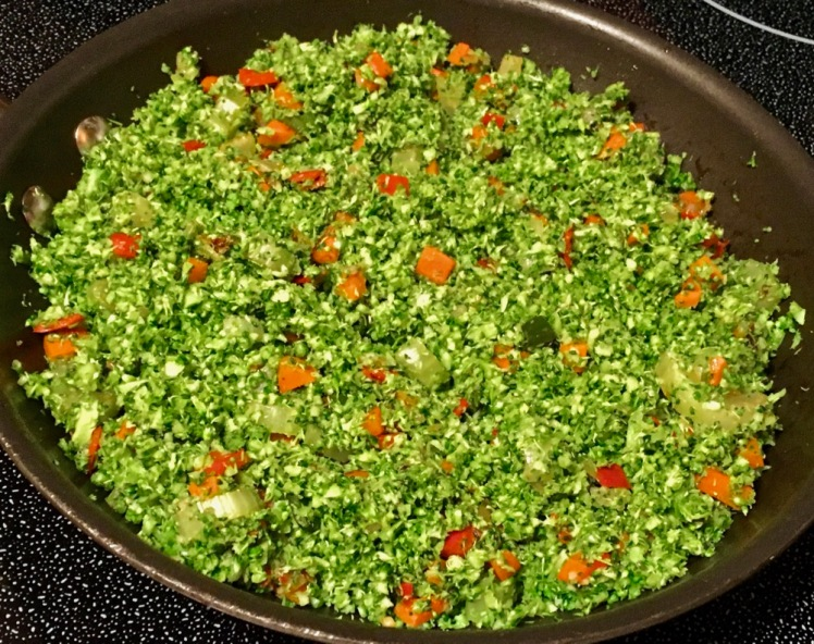 fried riced broccoli
