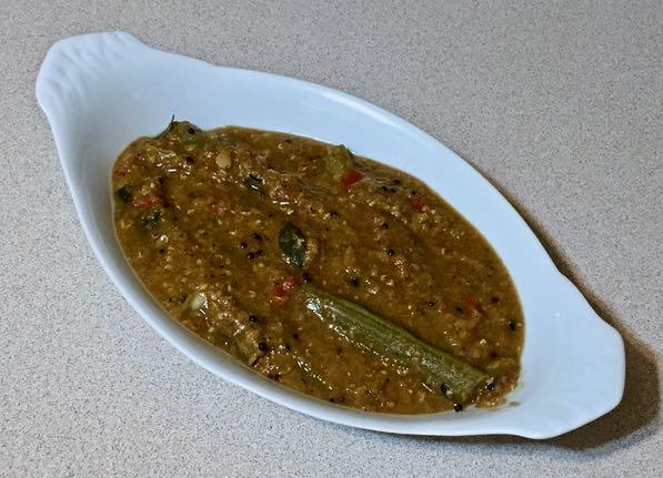uttappam & drumstick sambar