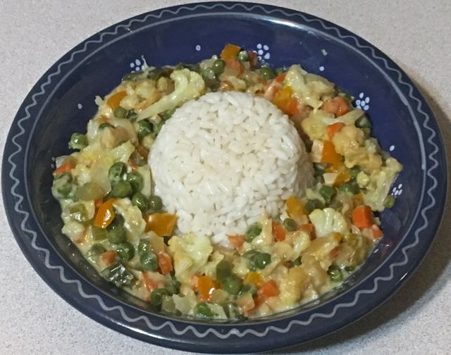 vegetables & rice