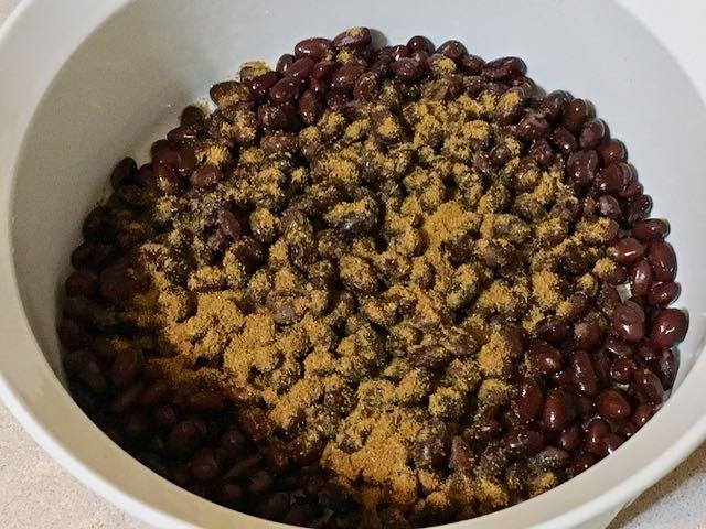 black bean nopalitos salad