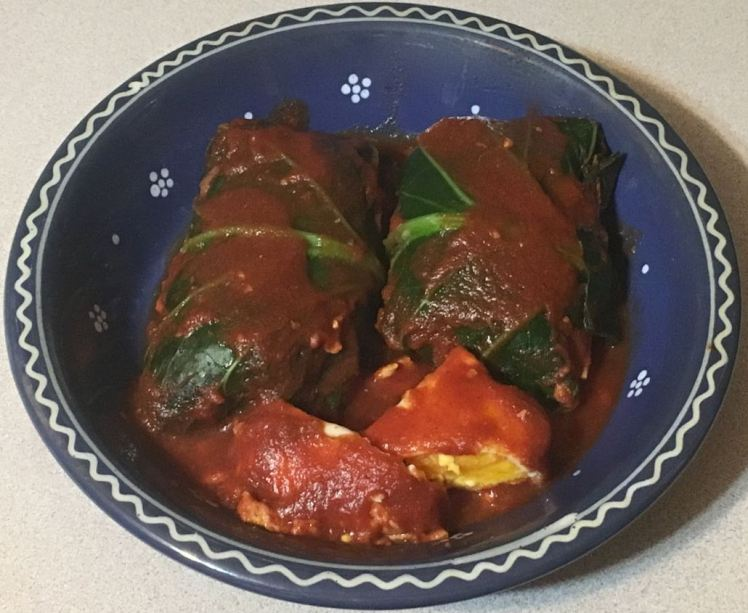 breakfast cabbage rolls
