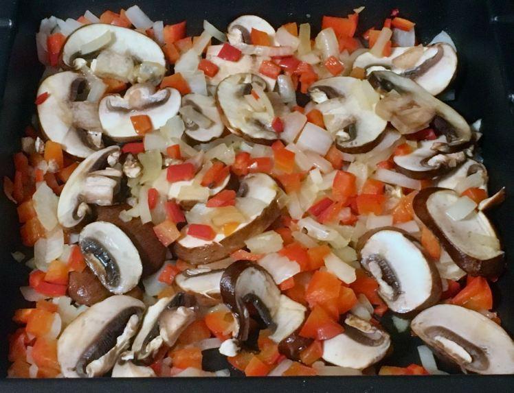 Swiss Chard, Mushroom & Vegeburger Sandwich