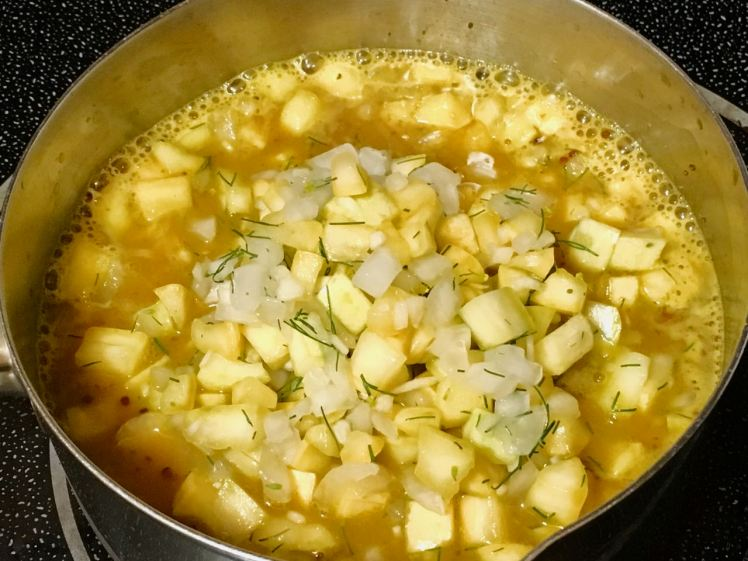 yellow squash relish