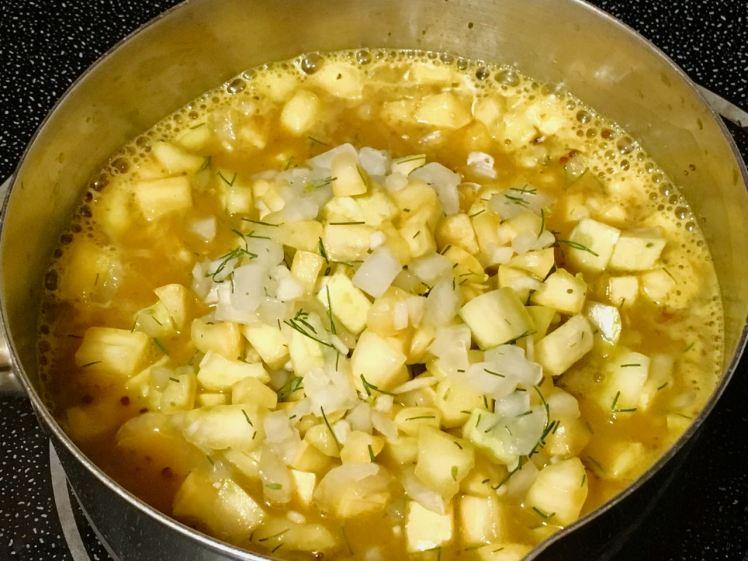 yellow squash relish
