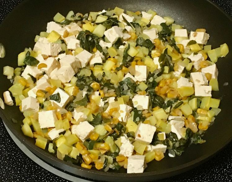 purslane & squash stir-fry