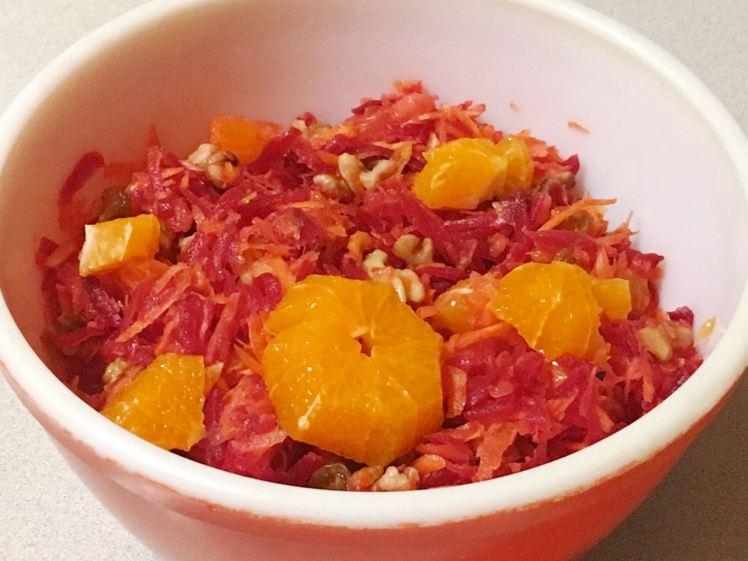 carrot/beet salad