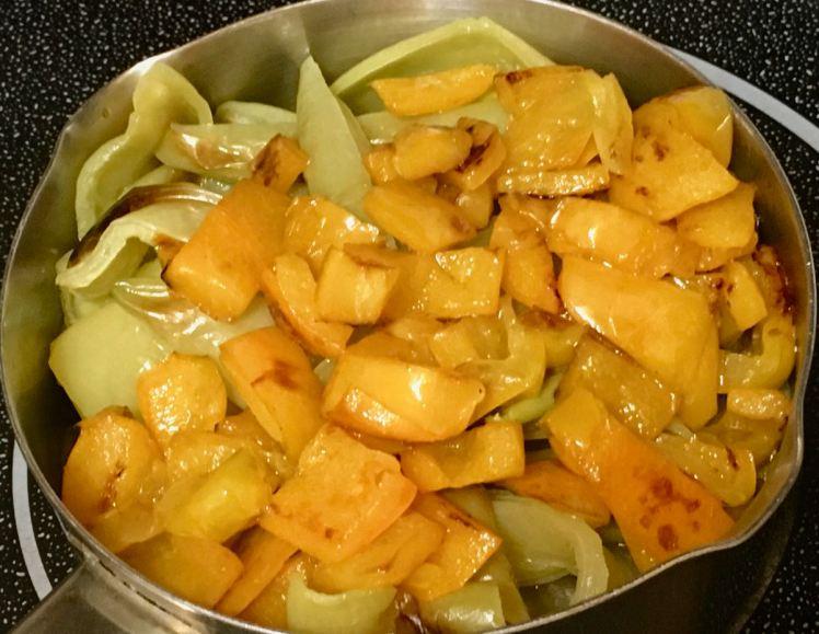 yellow pepper sauce