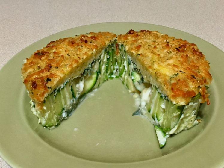 zucchini with saged egg