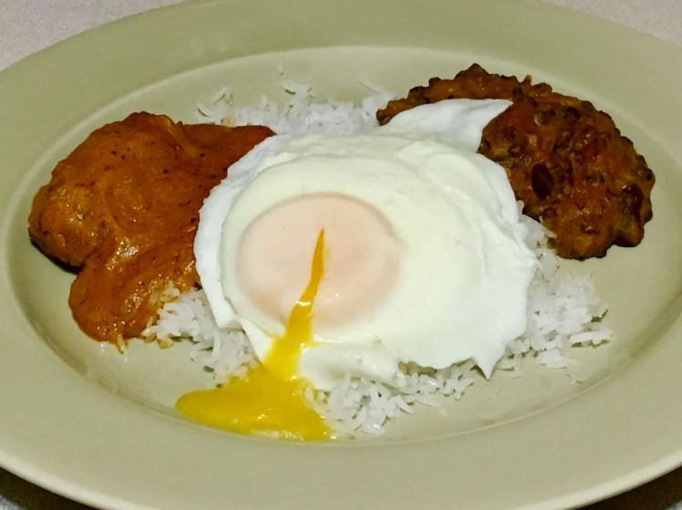 rice & curry breakfast