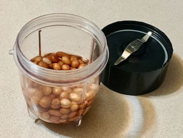 cilantro/basil/peanut sauce