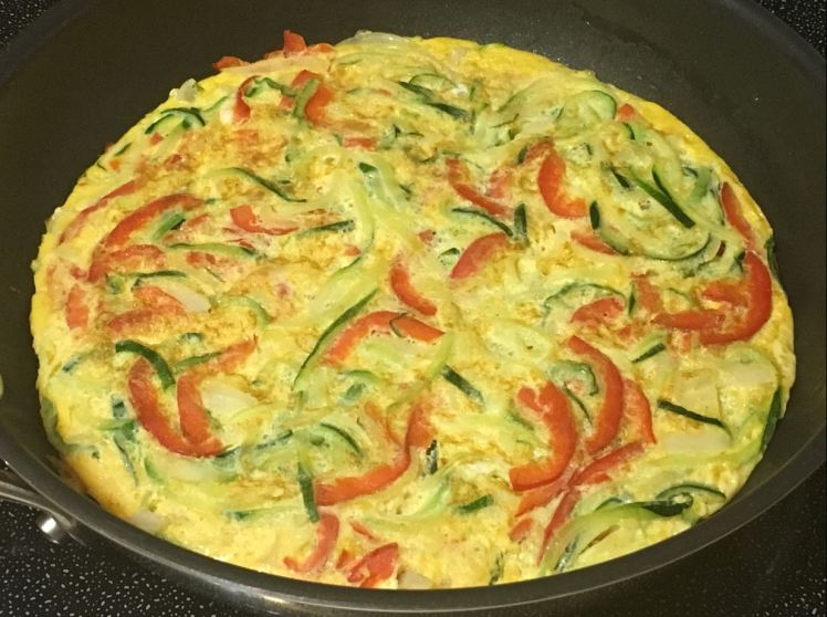 Spiralized Zucchini Breakfast