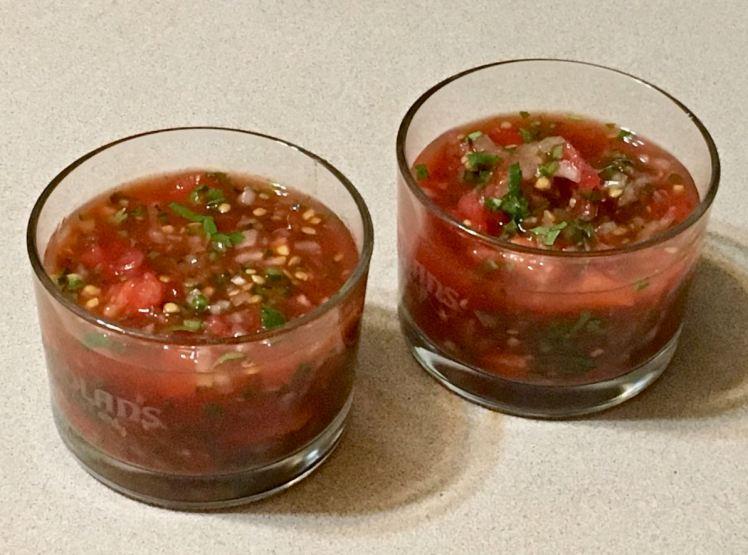 breakfast tomato bake