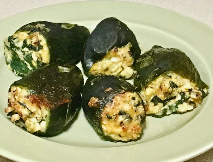 stuffed ancho chiles