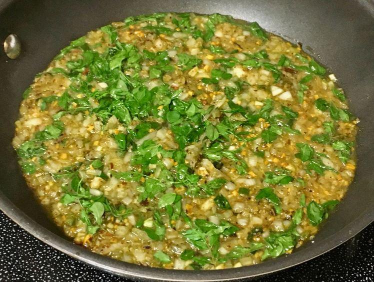 spinach gravy