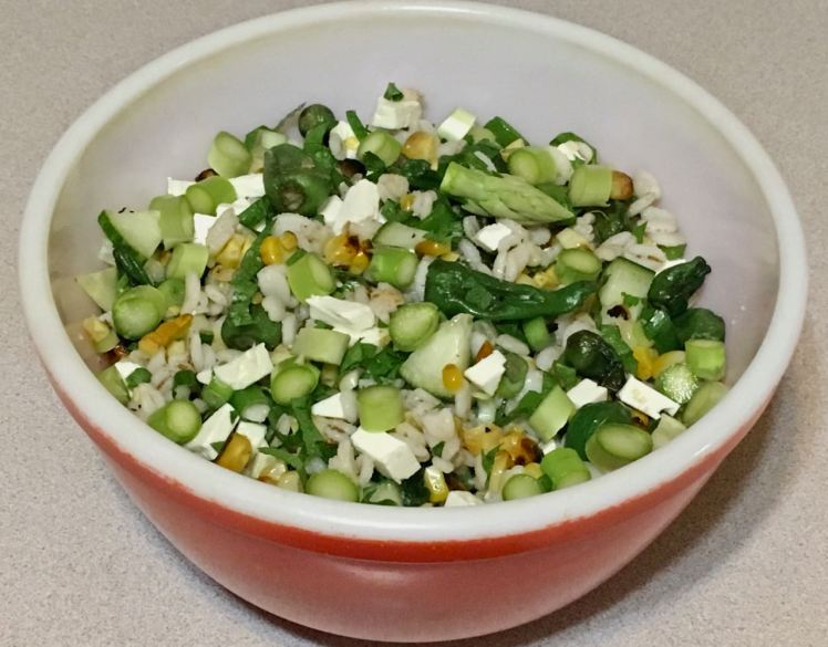 Barley, Corn Salad
