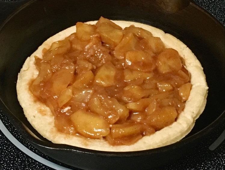 apple pizza tart