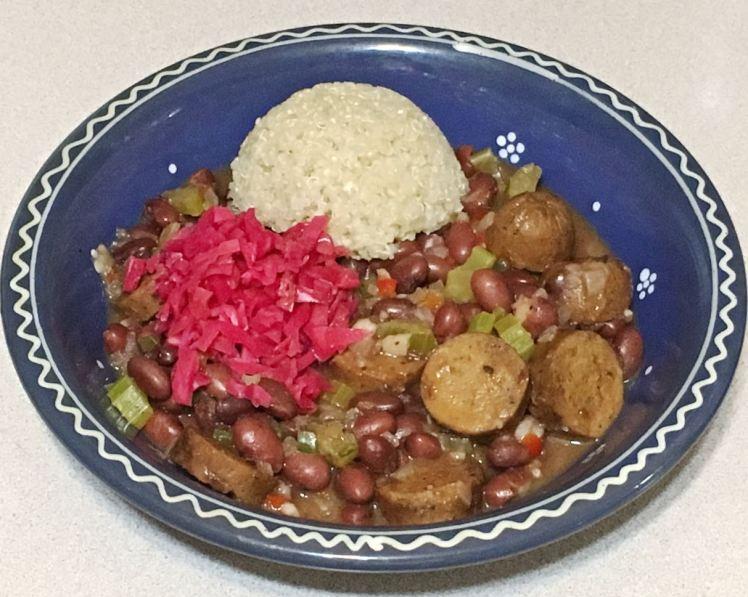 red beans & quinoa