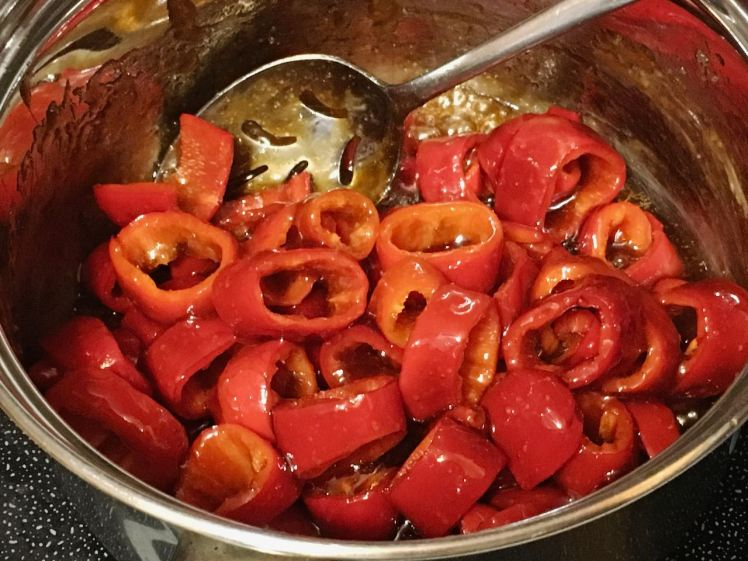 candied peppers