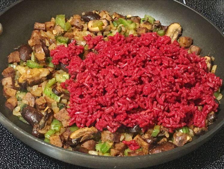 dirty gratin rice