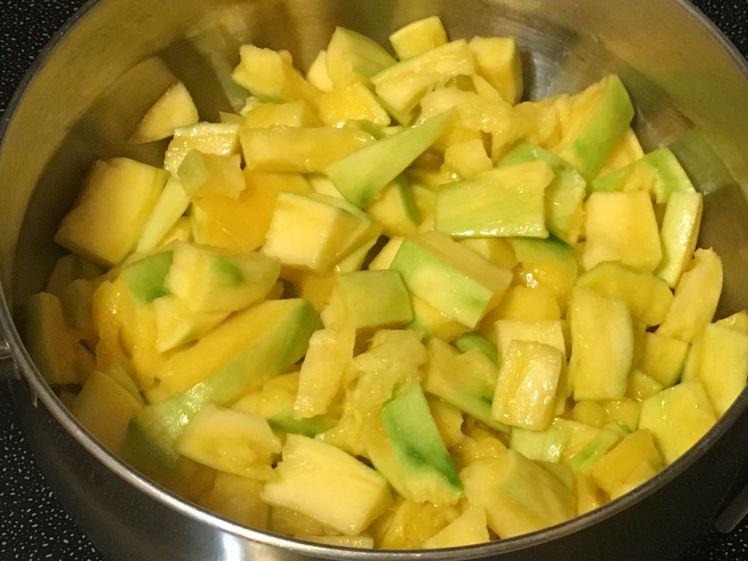 green mango sauce