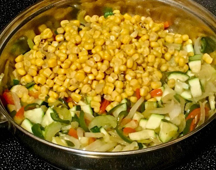 vegetable quesadilla