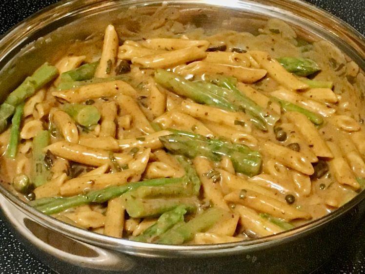Asparagus & Penne Pasta
