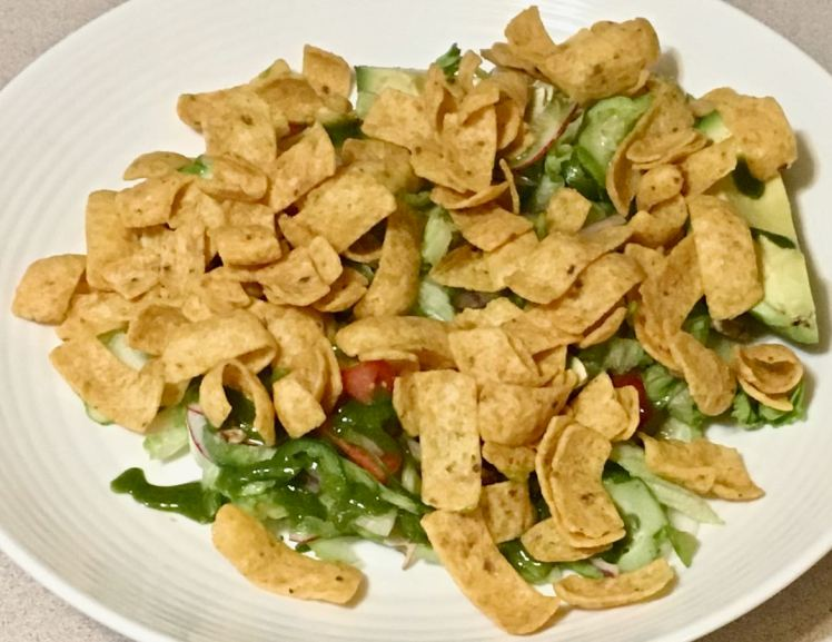 basil, cilantro & chives salad dressing
