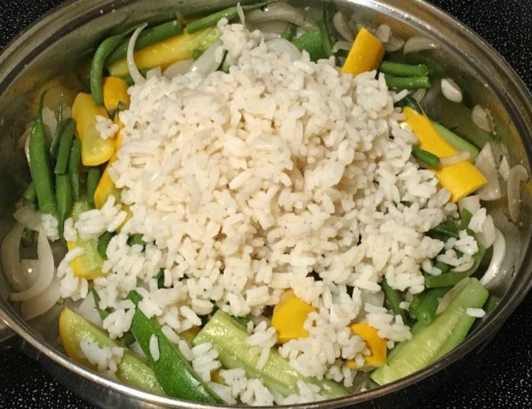 vegetables & rice